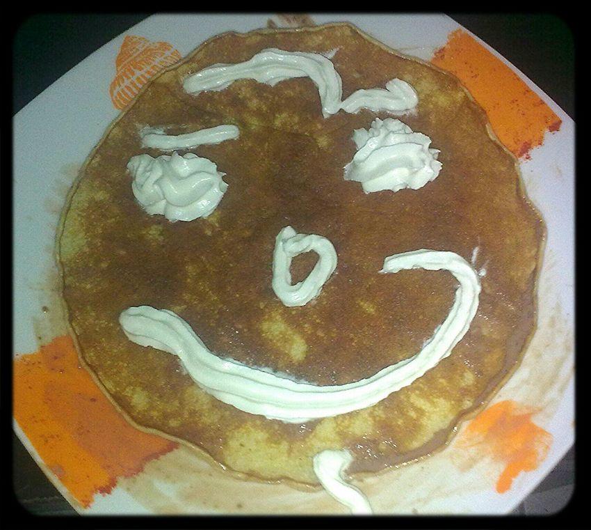 Homemade pancakes at home ...   Tortitas caseras en casa... Don't Play With Your Food Home ñam ñam Homemade