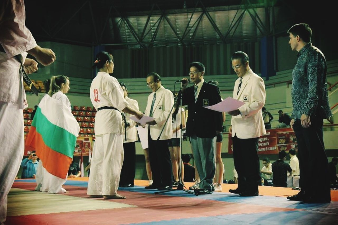 First Indonesian Open Karate Tournament Kyokushin Winners Sports Photography Extreme Sports EyeEm
