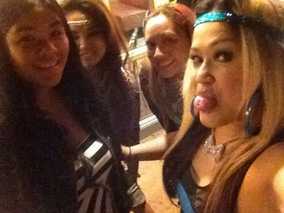 No filter. Me and some of the boxing girls