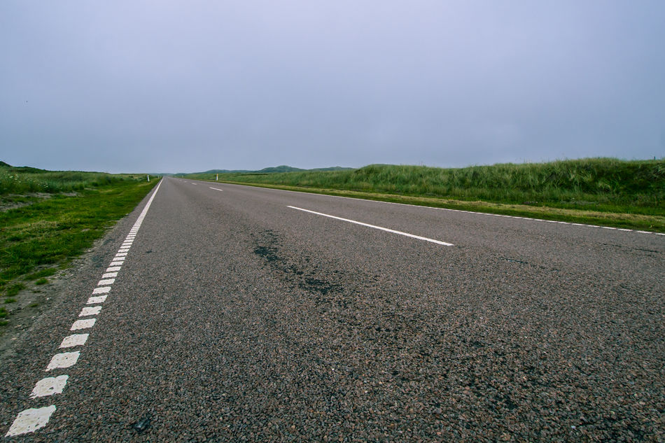 Asphalt Beauty In Nature Danmark Day Diminishing Perspective Dividing Line Grass Landscape Nature No People Outdoors Road Road Marking Scenics Sky The Way Forward Thy Tranquil Scene Tranquility Transportation