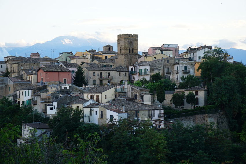 Lanciano Majella MedievalTown Abruzzo - Italy Medieval Architecture Old City Reinbow Reinbow Colors Trabocco
