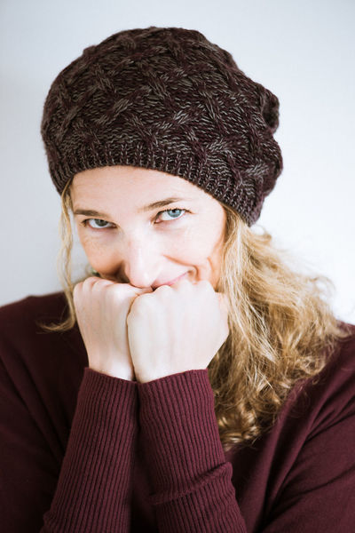 Blonde Blue Eyes Wintertime Beautiful Woman Burgundy Cozy Front View Headshot Human Hand Knit Cap Lifestyles Looking At Camera People Portrait Real People Studio Shot Sweater Warm Clothing White Background Wool Hat