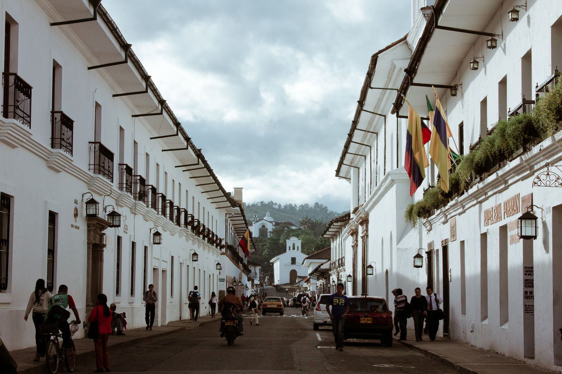 Architecture Building Exterior Built Structure City City Cloud - Sky Colombia Popayán Street White