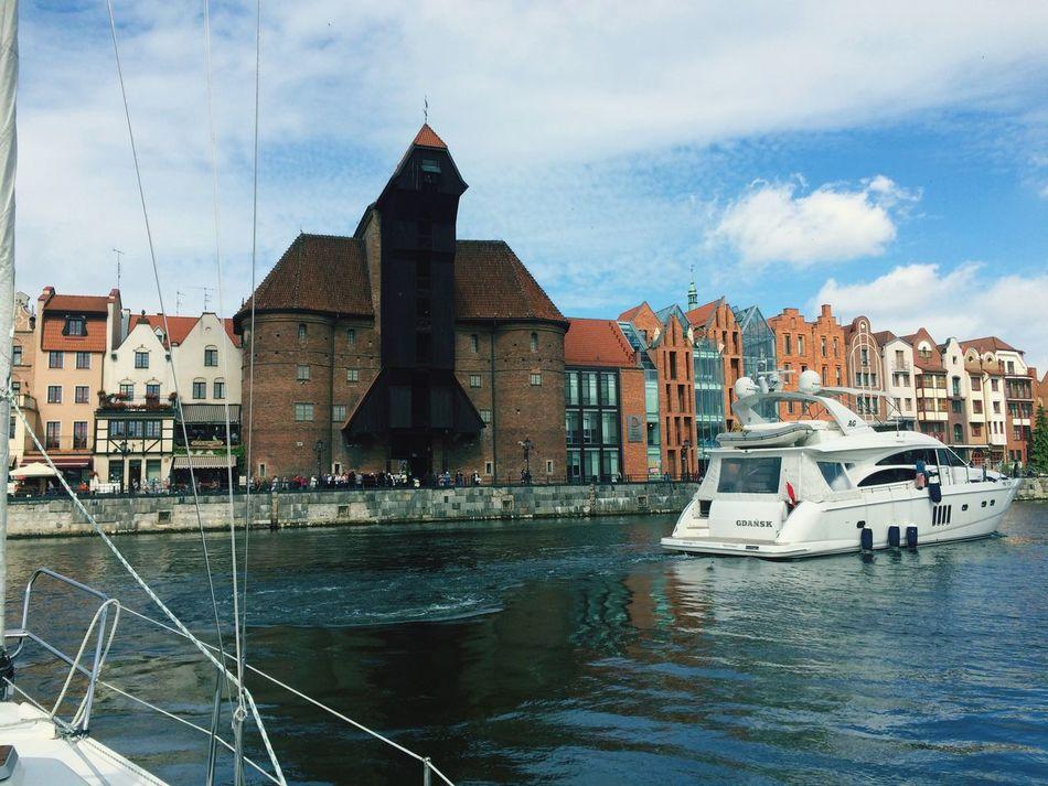 Nice View Starting A Trip Sailing Gdansk PolLitLett2015