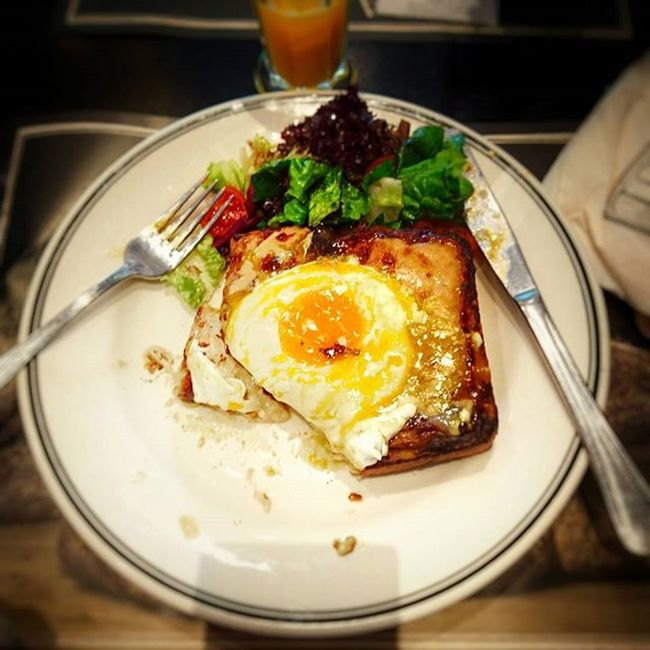 GoodMorningWorld Breakfast Croquemadame