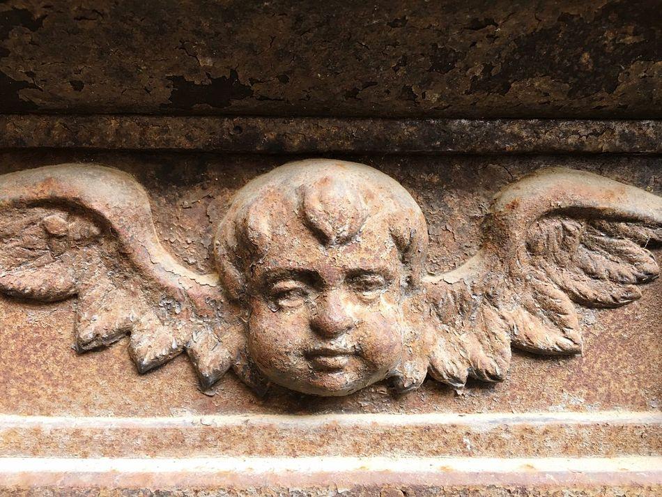 Sculpture Close-up No People Statue Day Outdoors Angel Querubín Querubini