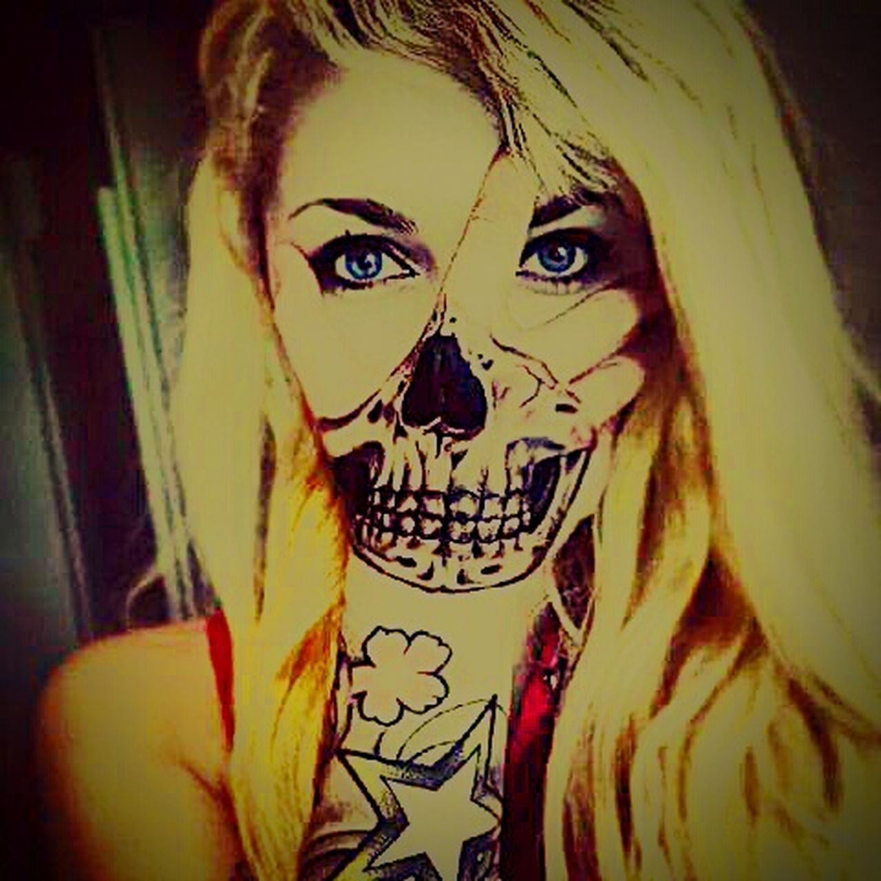 SexyAsFuck Mercurial Tattoo ❤ Art, Drawing, Creativity Unique Beauty Darkness And Light Emo Nightgallery Dark Art Creative Light And Shadow Shadows & Lights Twilight Darkest Hours Grunge Art Blonde ♡ Sweetandsexy Fear Itself Horrorart Horror Portrait Occult Blonde Girl Punkprincess Sexygirl Pretty Girl Swag You Will Be Loved