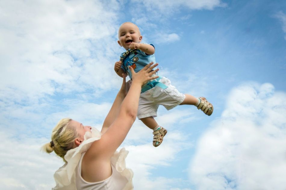 Beautiful stock photos of mother's day, Baby, Babyhood, Carrying, Caucasian