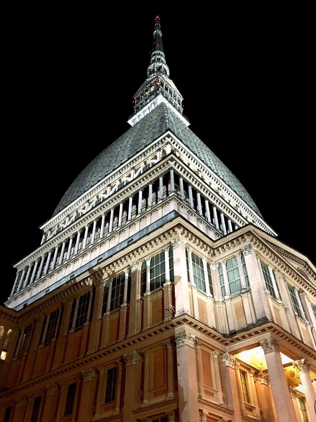 Mole Antonelliana in Turin - Side B Mole Antonelliana Moleantonelliana Turin Turin Italy Torino Italy Italia Monuments Monument Building Building Exterior City Towers Tower Historical Monuments Historical Building Night Photography Nightphotography Landmarks Landmark Urban Night Buildings Urban Landscape Urban Geometry