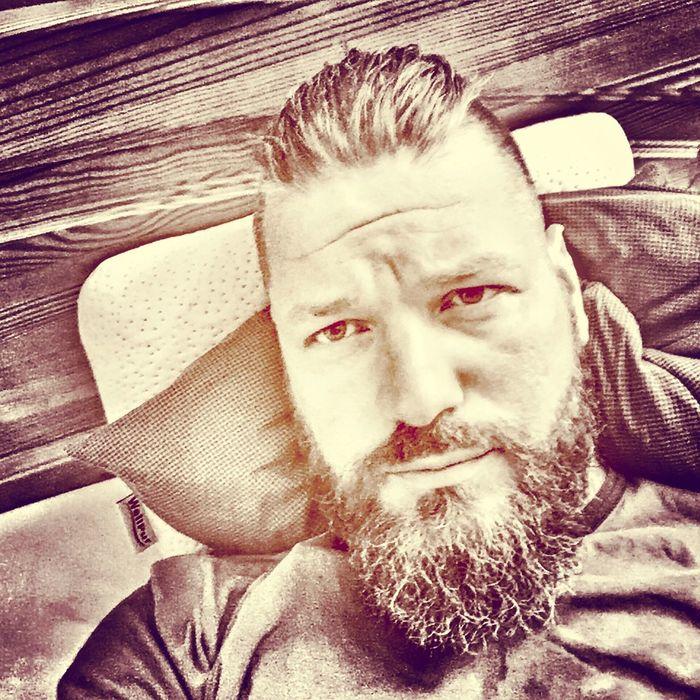 Vikingselite Vikings  Savage That's Me Relaxing Beardman Beardlife Beard Beardporn Bearded That's Me