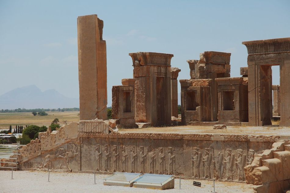 Miles Away Architecture History Built Structure Ancient Old Ruin Travel Destinations Ancient Civilization The Past Archaeology Building Exterior Tourism Sky Architectural Column Weathered Outdoors Day Place Of Worship No People Bad Condition Ancient History Persepolis Persian Empire Shīrāz Iran