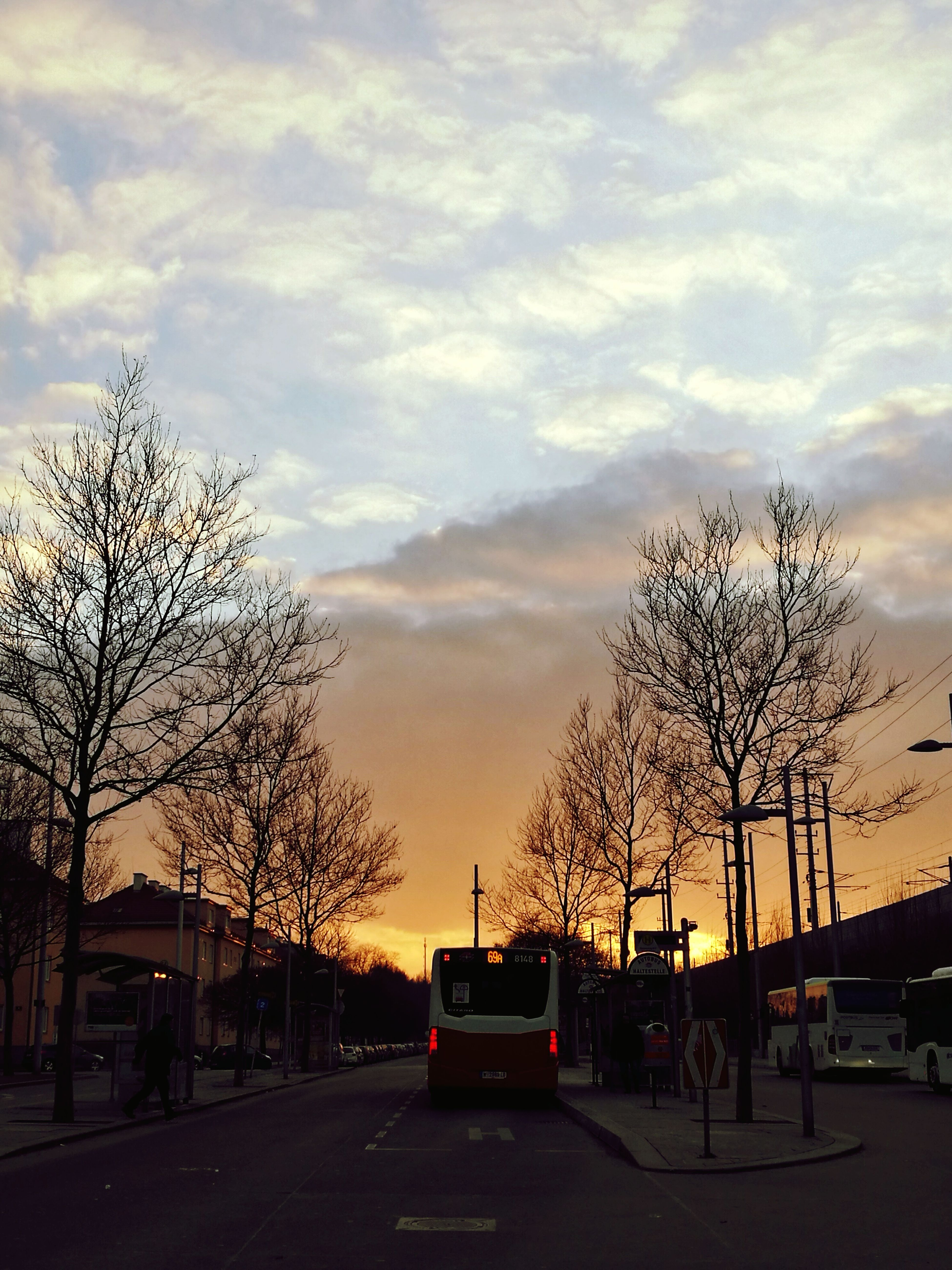 Sunset Sky And Clouds Look Up If You Can Look Up, You Can Get Up Les Brown Beauty Of Life  Grateful Bus Stop