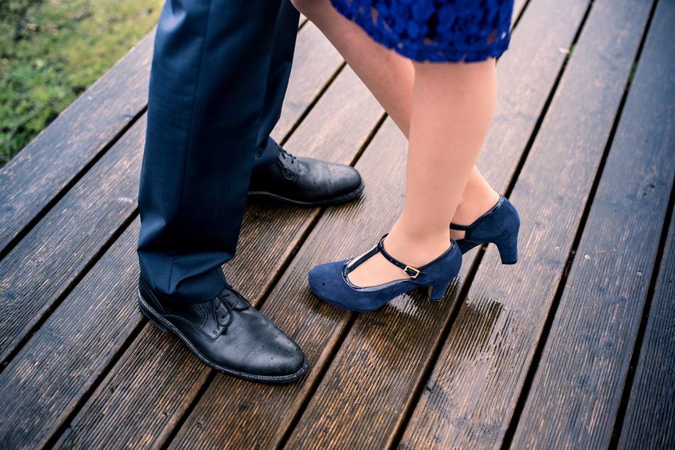 Adult Blue Clothes Blue Style Casual Clothing Close Together... Close-up Human Body Part Intimate Kiss Leisure Activity Lifestyles Love Love Is In The Air Men Outdoors People Person Shoe Standing Together Together Forever Togetherness Two People Wedding