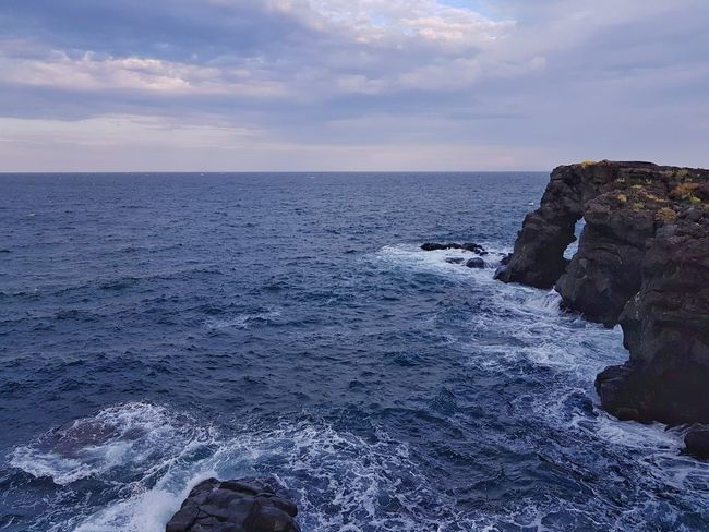 Beauty In Nature Cliff Cloud Cloud - Sky Coastline Horizon Over Water Idyllic Nature No People Non-urban Scene Outdoors Remote Rippled Rock Rock - Object Rock Formation Scenics Sea Seascape Sicily Landscape Sky Tranquil Scene Tranquility Water Wave