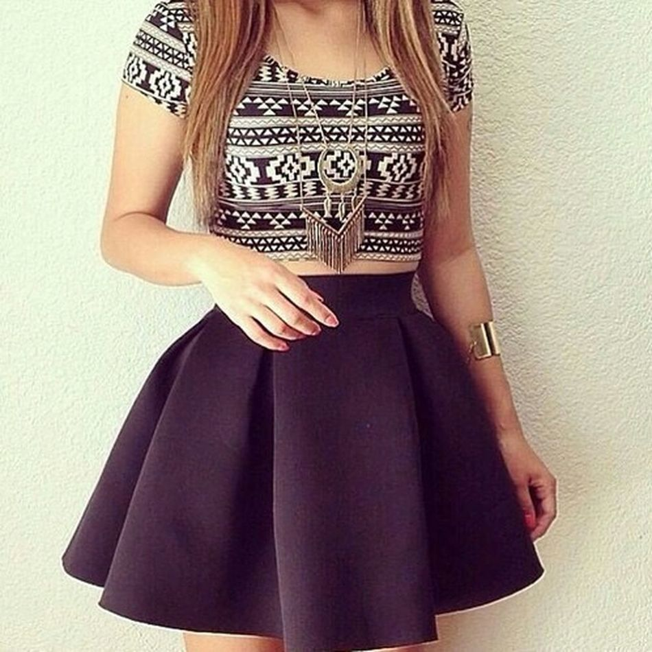 Dress Circle Skirt Hello World For Summer Beautiful