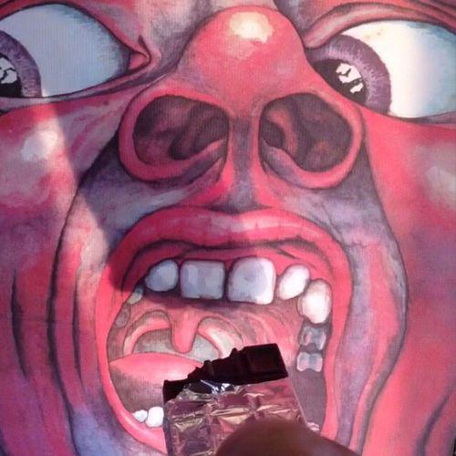 Valentinesday Chocolate Albumartwork Albumcover 🎶 Kingcrimson - 21St Century Schizoid Man