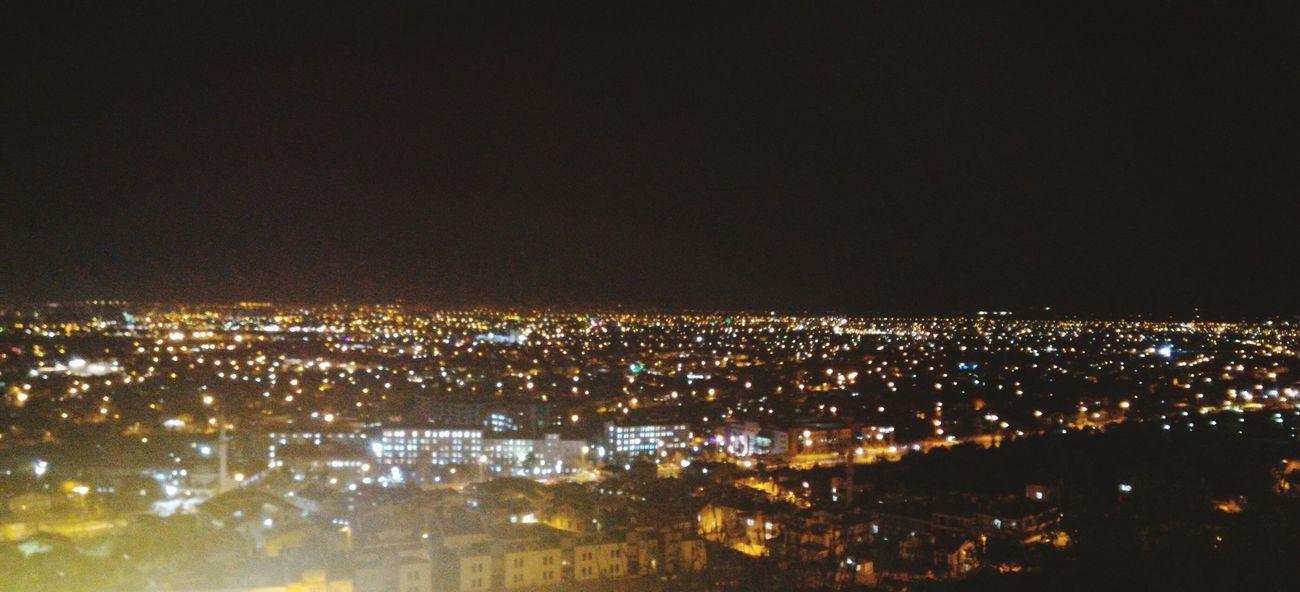 Konya Akyokuş Gece Night Sehir City