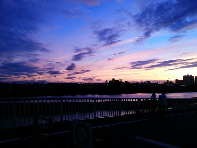 Sky on fire tonight. The Moment - 2015 EyeEm AwardsThe World Is Beautiful Sunset Dusk Pinksky