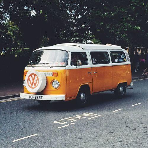Classic VW Camper Van. 1980s. IPhoneography EyeEm Best Shots VSCO Taking Photos