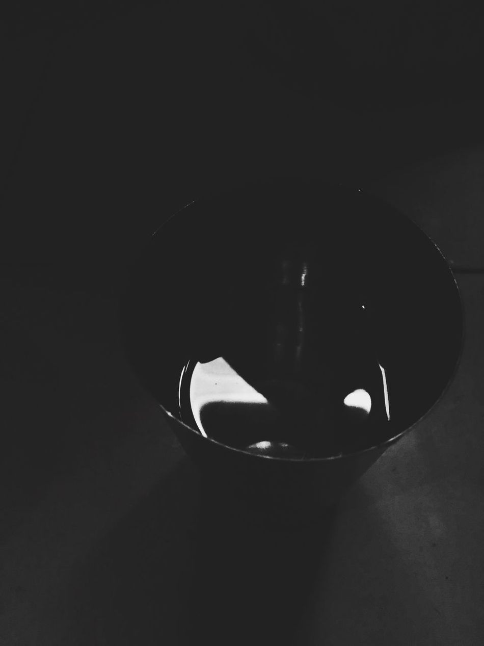 Glass of water in the dark. Darkness Glass Of Water Black Background In The Dark Blackandwhite Black & White Black And White Water