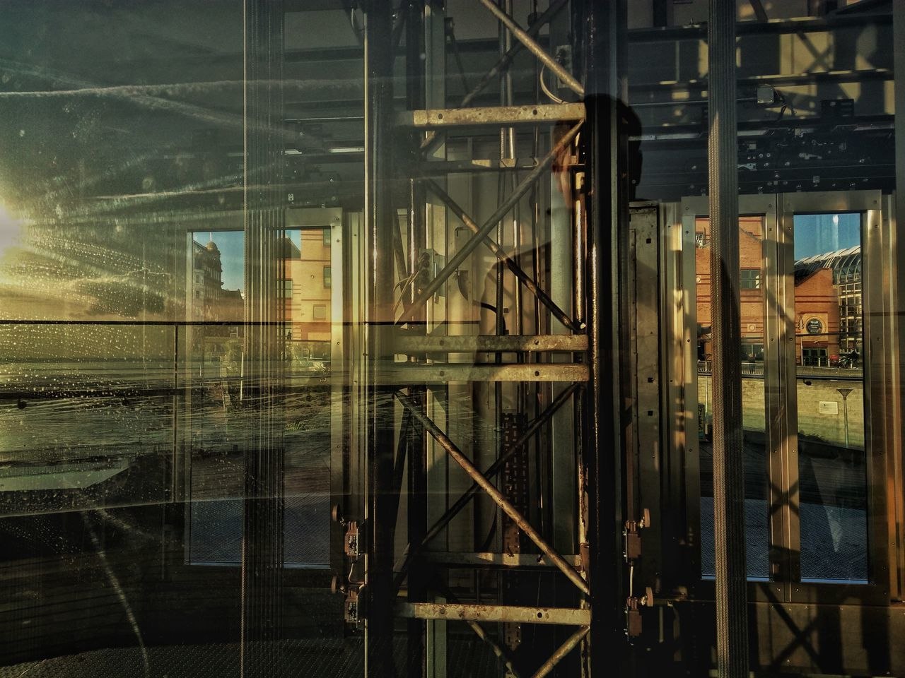 Reflect. Built Structure Architecture Reflection Pier Hill Lift Abstract Machinery Southendonsea Southend Pier Hill Southend Lift Shaft Elevator Elevator Shaft Lift Southend On Sea Reflections