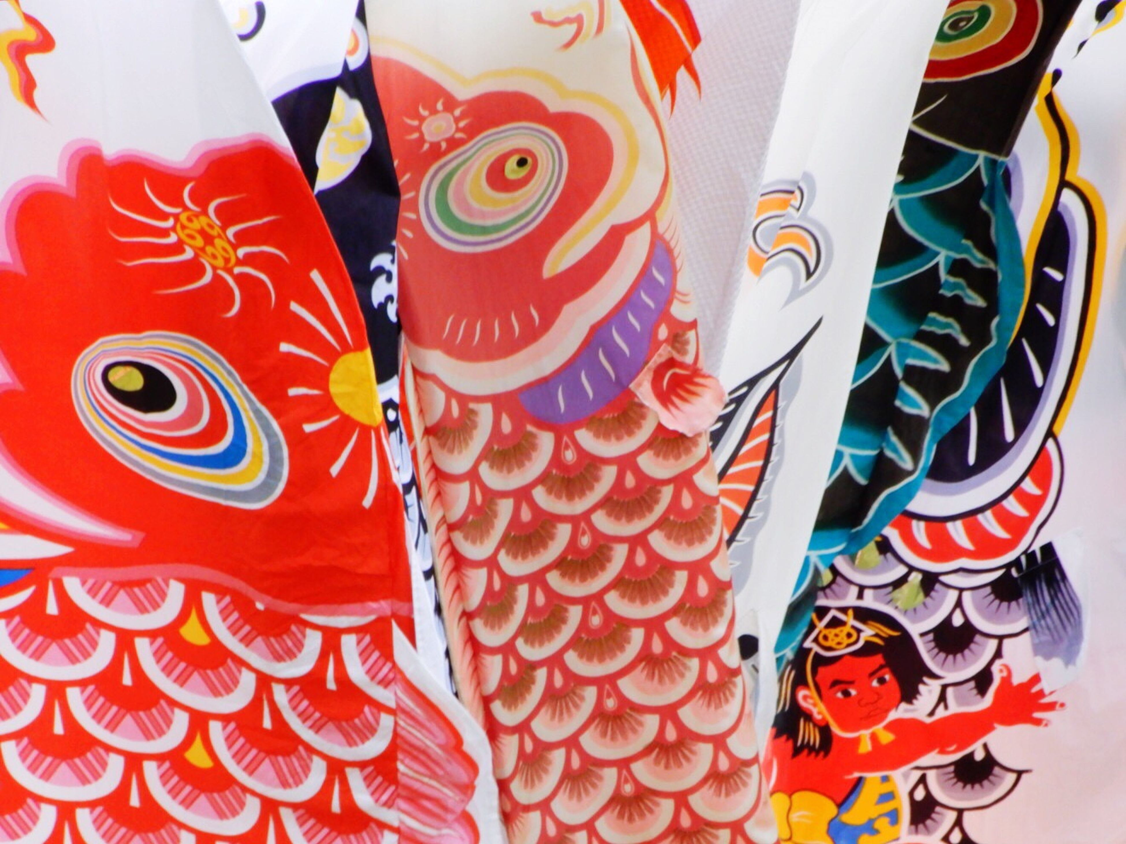 Multi Colored Variation Full Frame Retail  Backgrounds Market Close-up Outdoors Day No People Carp
