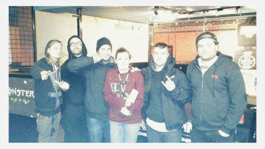 Got to meet my favorite band Emmure  Eternalenemies