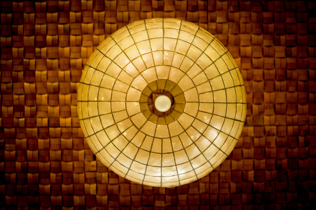 lights from bamboo palace #bulb #ceiling #chandelier #Light & Shadow #lights #look Up #Native #PandoraFlow #photography #view #vinyl Vintage Photo