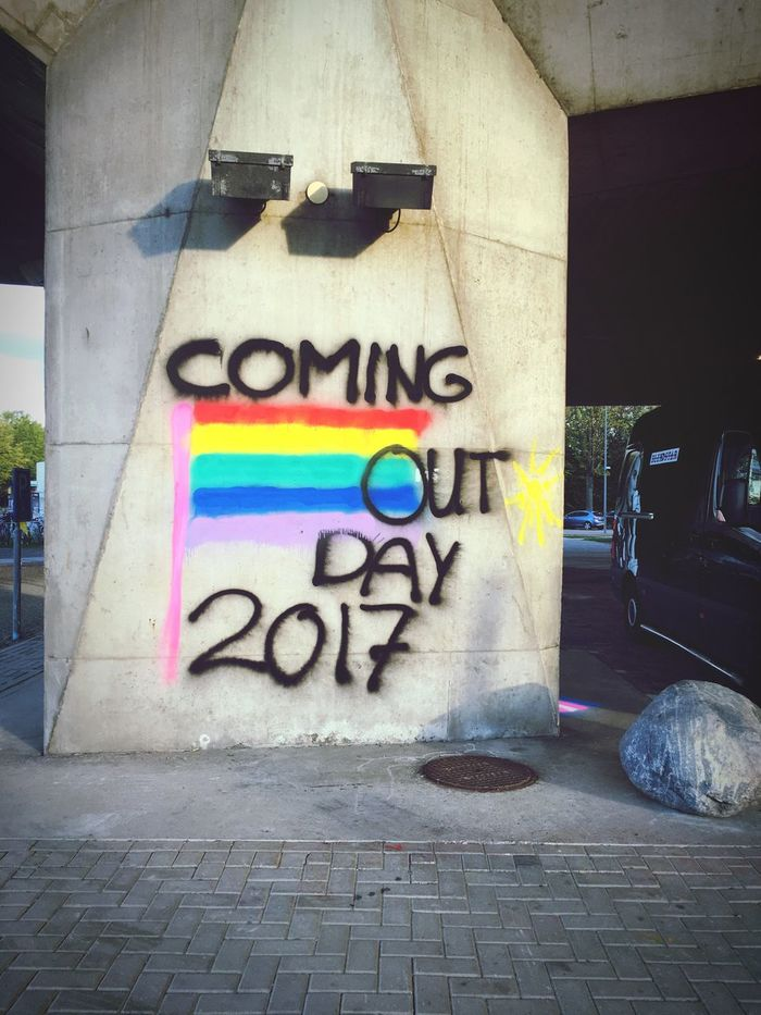 coming out day 2017 | Delft, 11102017 Delft TU Delft Lgbt Lgbtq+ Lgbt Pride Mobilephotography IPhoneography