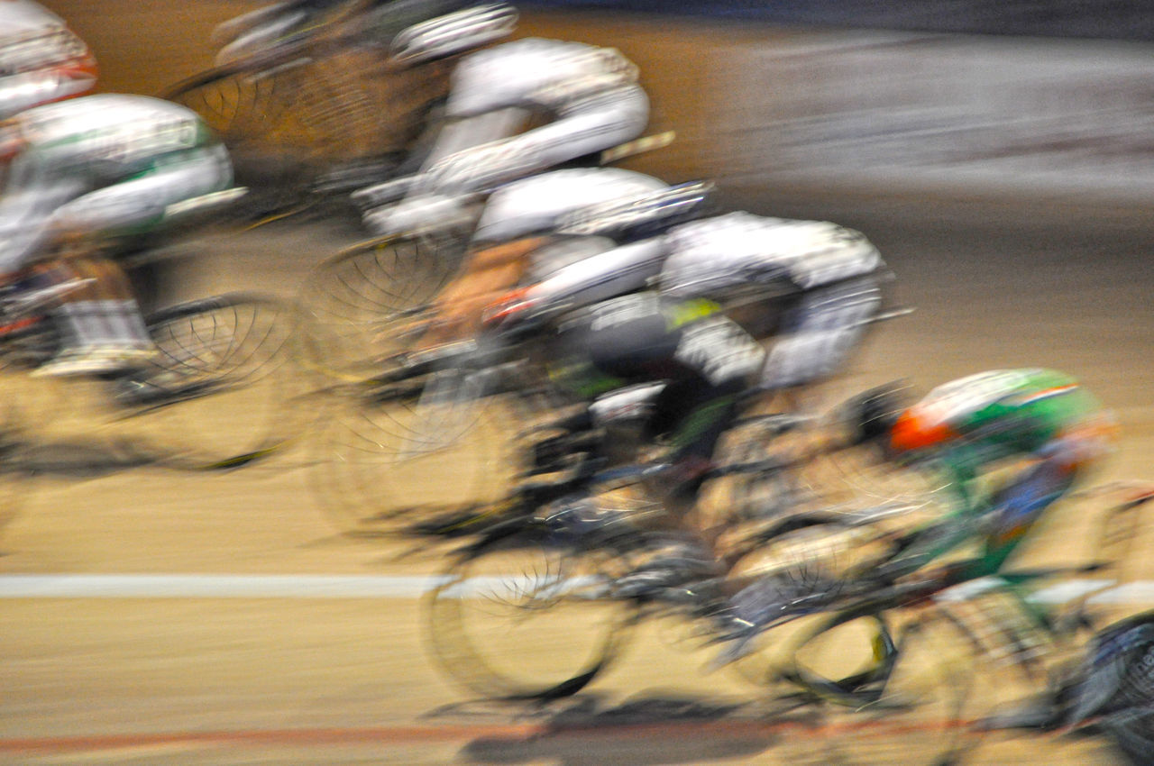 Bicycles Blurred Motion Blurry Competition Competitions Contest Cycle Race Cycle Racing Cycling Sport Cycling Track Group Of People Match Motion Motion Blur Movement Race Racing Racing Bicycles Speed Sports Sports Photography Sprinting Velodrome Need For Speed