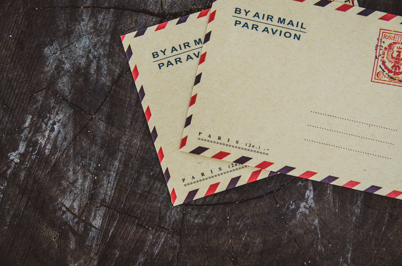 Beautiful stock photos of envelope,  Close-Up,  Communication,  Copy Space,  Day