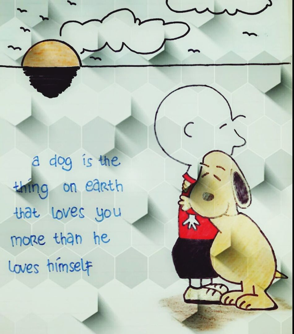 Dog's Quote Drawing Quote Check This Out