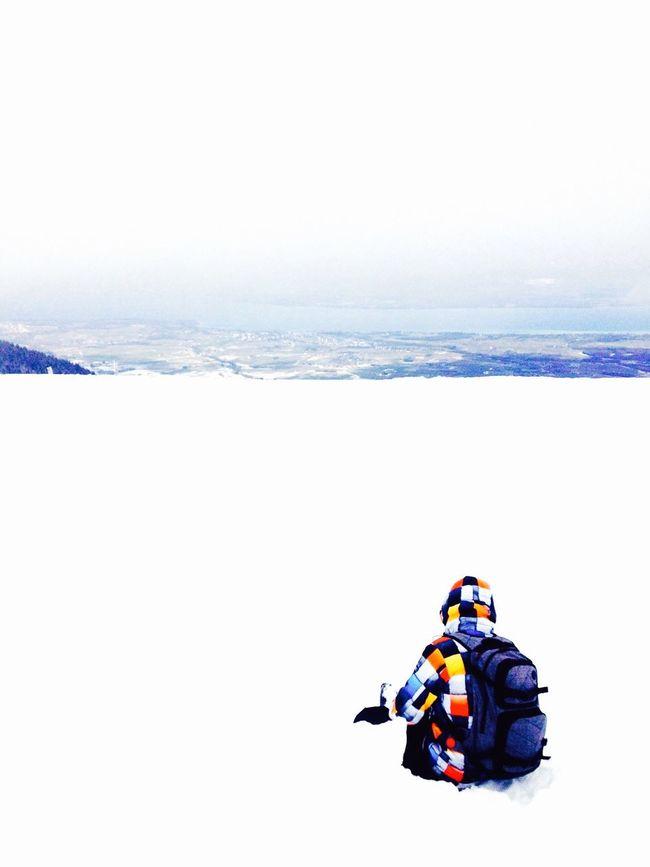 Alone Winter World Snow IPhoneography Ski