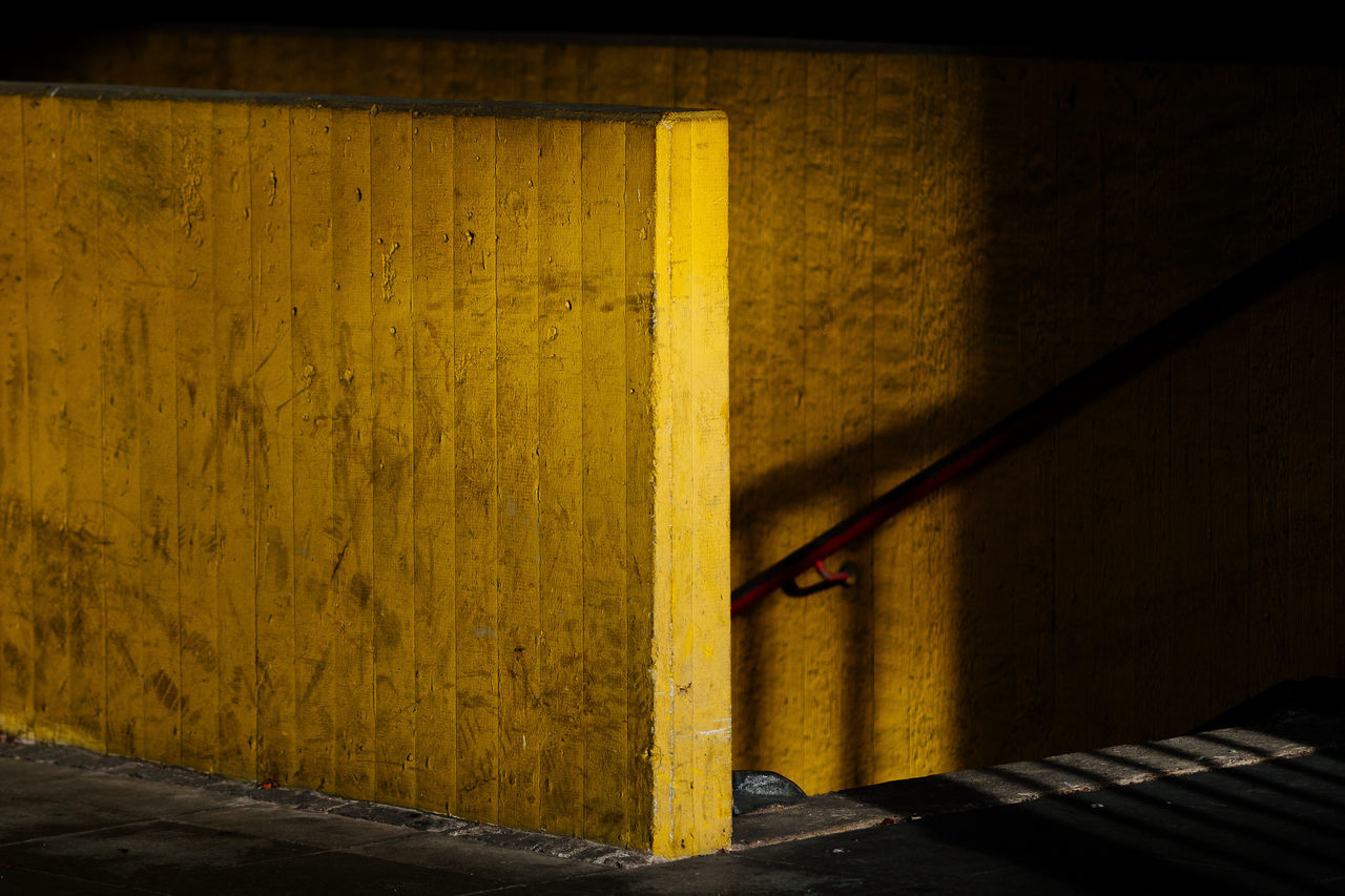Stairs & Shadows | Architecture Bonjour Tristesse Built Structure Concrete Day Indoors  Light Light And Shadow No People Stairs Stairs & Shadows Sunlight Sunlight Sunlight And Shadow Tristesse Yellow