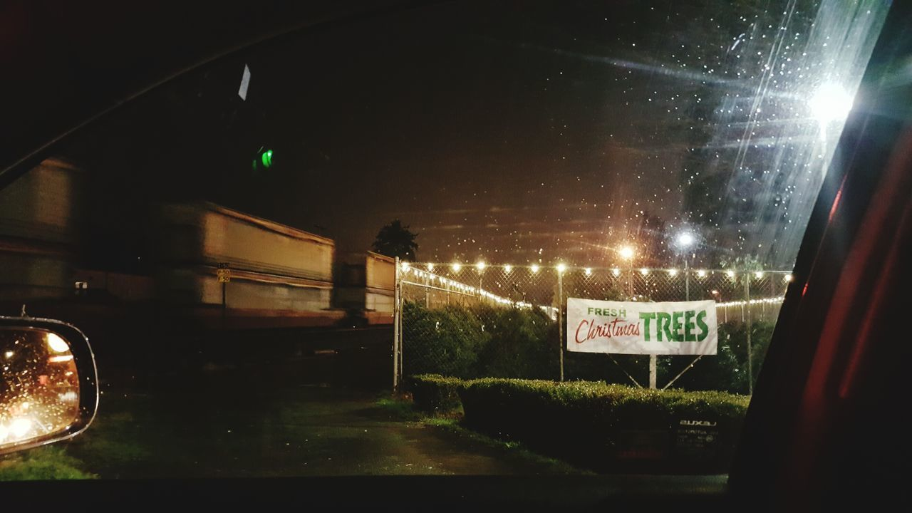 Stopped by the train, again. MARYSVILLE WA. Night Car Tistheseason Tistheseasontobejolly Christmas Tree Christmas Decorations Christmas Lights Train - Vehicle Trains Trainspotting Train Rainy Night Incarpics Rainy Season Stop Light Rear-view Mirror Rearview Rearviewmirrorshot