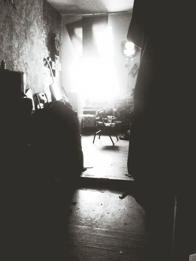 My apartment, in the early part of the day. Capa Filter
