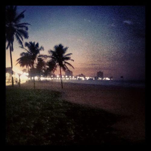 Praia linda.