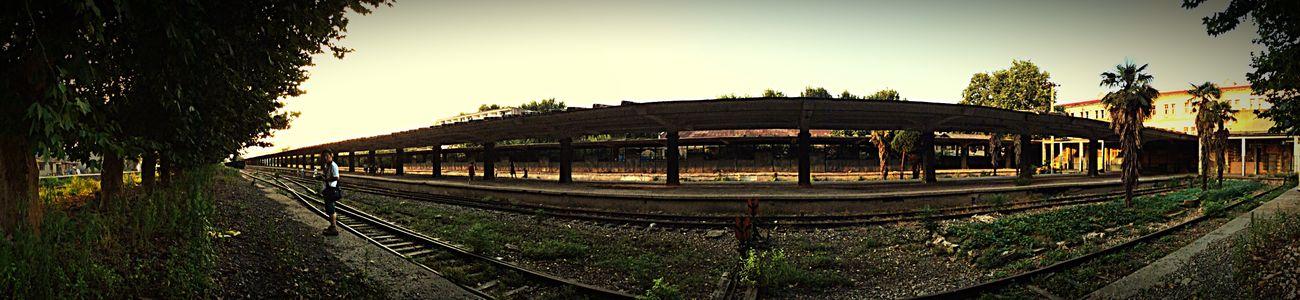 一个人的车站。