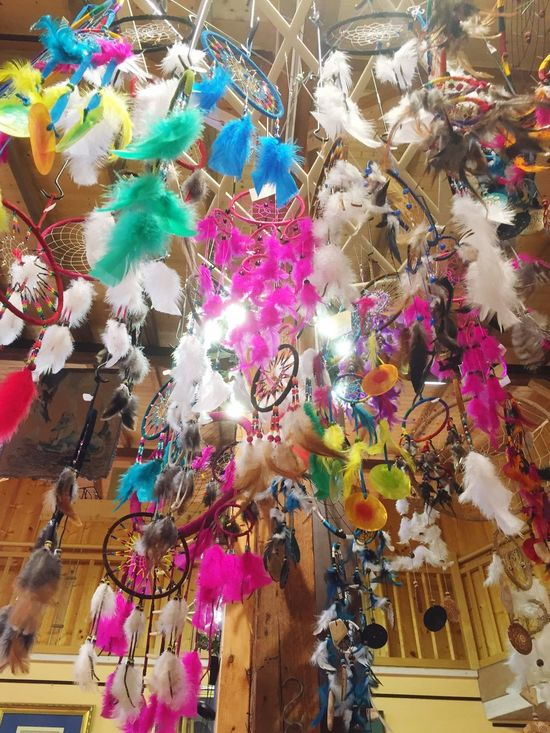 Many various dreamcatcher Multi Colored Art And Craft Hanging Abundance No People Variation Large Group Of Objects Day Indoors  Close-up Dreamcatcher Feather
