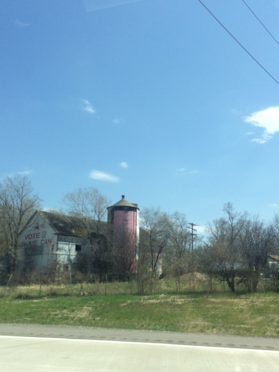 built structure, architecture, sky, building exterior, day, no people, tree, outdoors, road, nature, water tower - storage tank