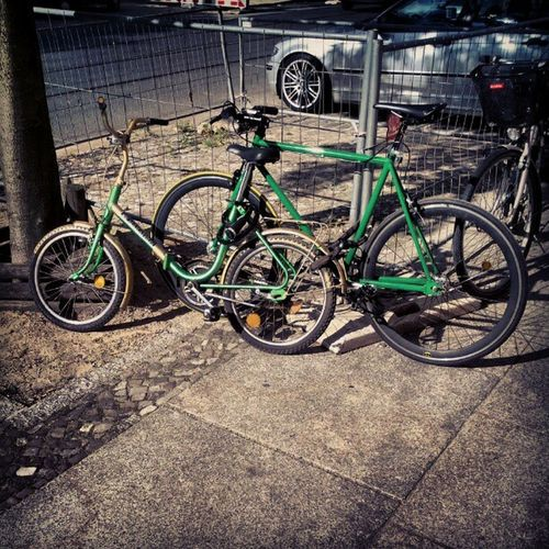 "My bike and his little ""brother"". :) #bro #bikebro #bikeporn #singlespeed #couple #bikelove #picoftheday Couple Bro Picoftheday Bikeporn Singlespeed Bikelove Bikebro"