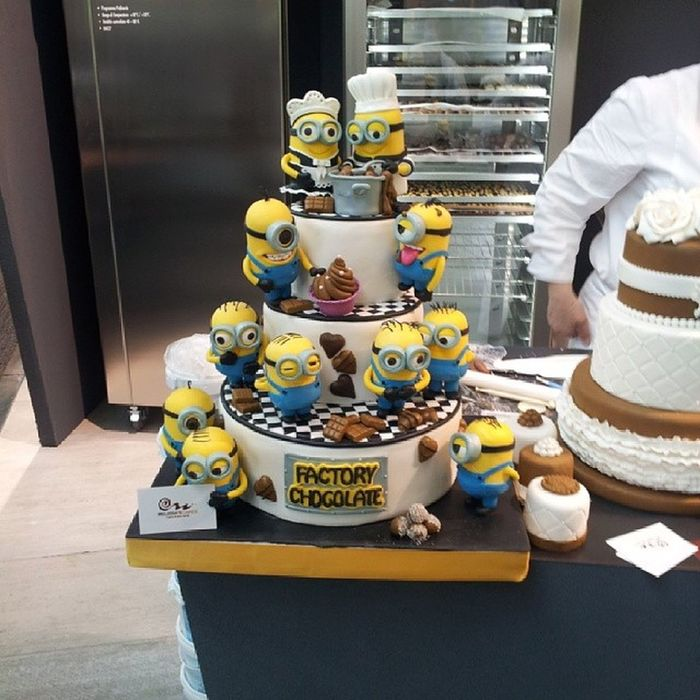 Love it ^_^ Helloitaly Cake Minions Despicableme