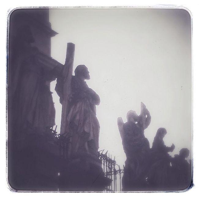 Statues of Apostles Cracow Krakow