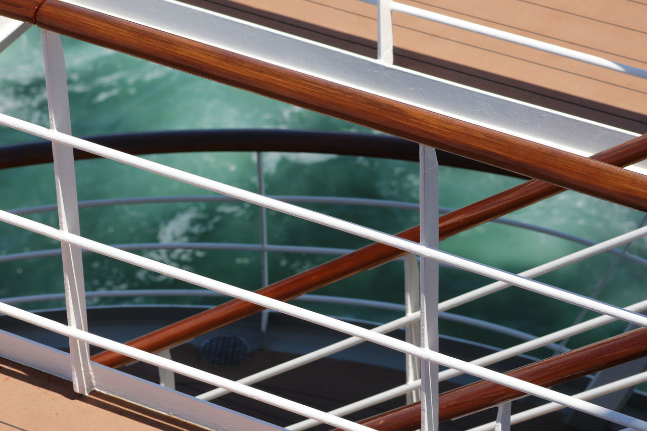 Architecture Construction Cruise Cruise Ship Deck Metal Msc Railing Sea Ship Stairs Wood Wooden Railing The Architect - 2017 EyeEm Awards Break The Mold