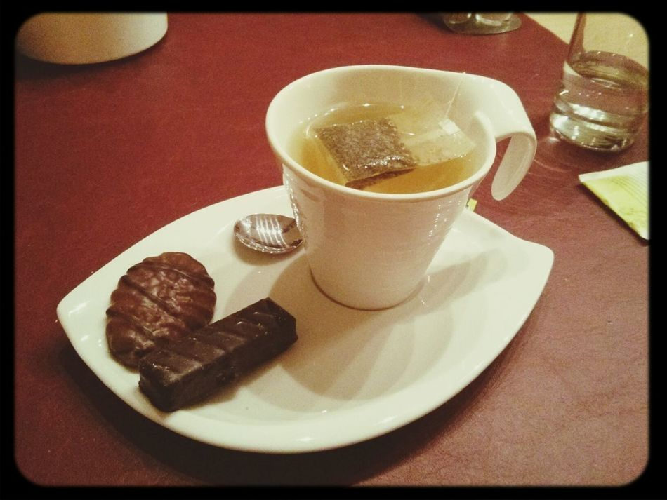 After dinner tea with cookies Dolce Far Niente
