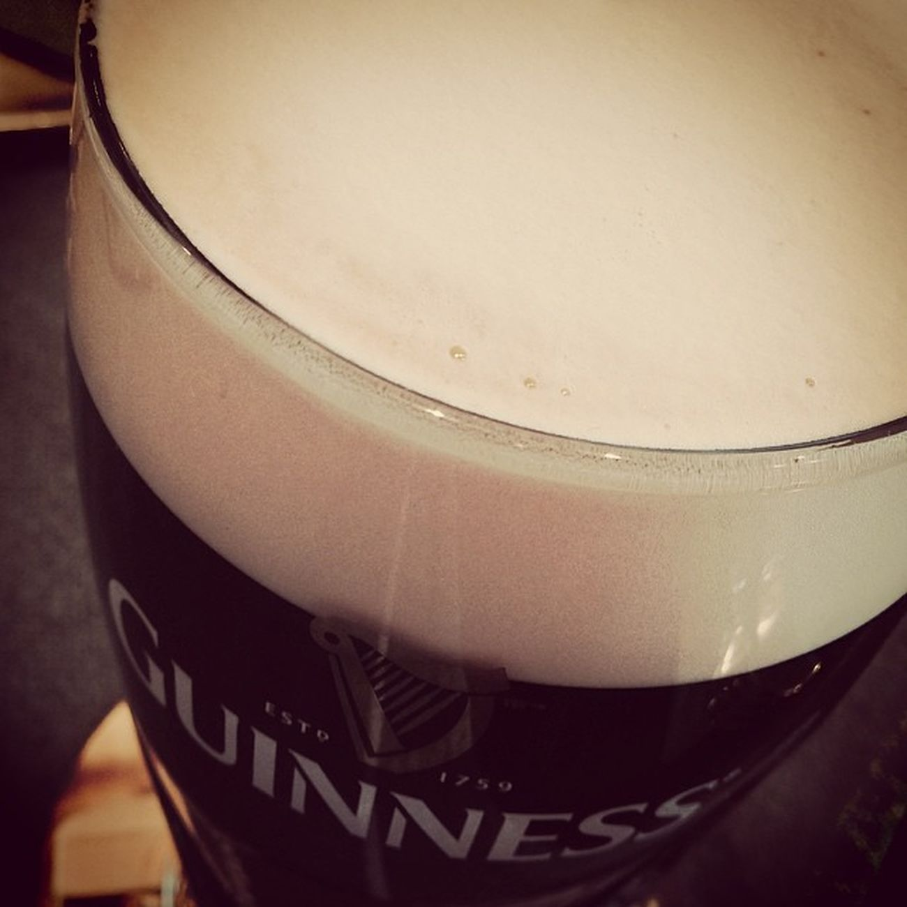 Vorspeise. Die Einen essen Suppe, die Anderen tinken sie. #sláinte Beer Guinness Bier Slàinte Irishpub Tuttlingen
