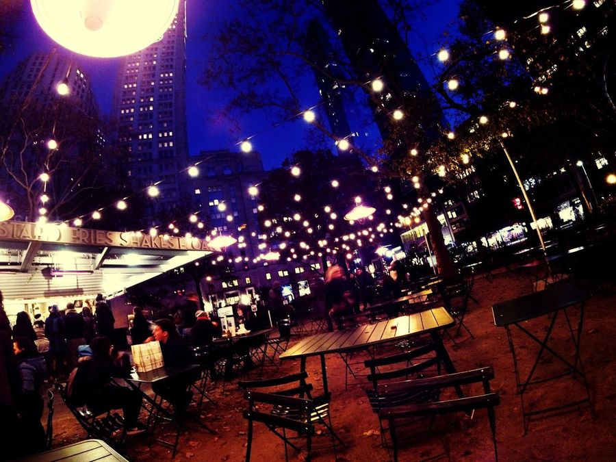 NYC Photography Shakeshack Nightphotography Ligths Nigthpicture City