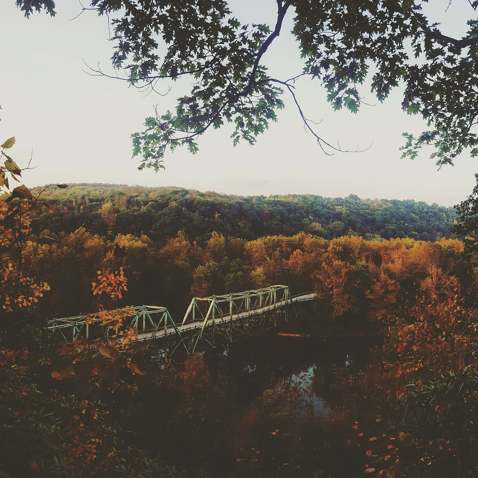 Layton bridge needs repairs Bridge TheCaves October Fall Beauty