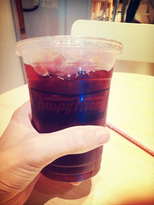 Iced tea? Nah, large americano to keep me awake for several hours :)) Check This Out