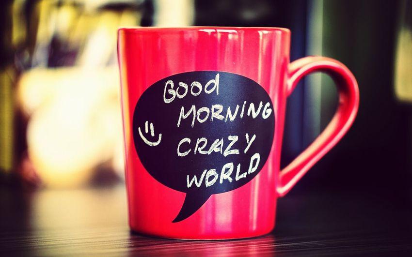 Art Good Morning Crazy World